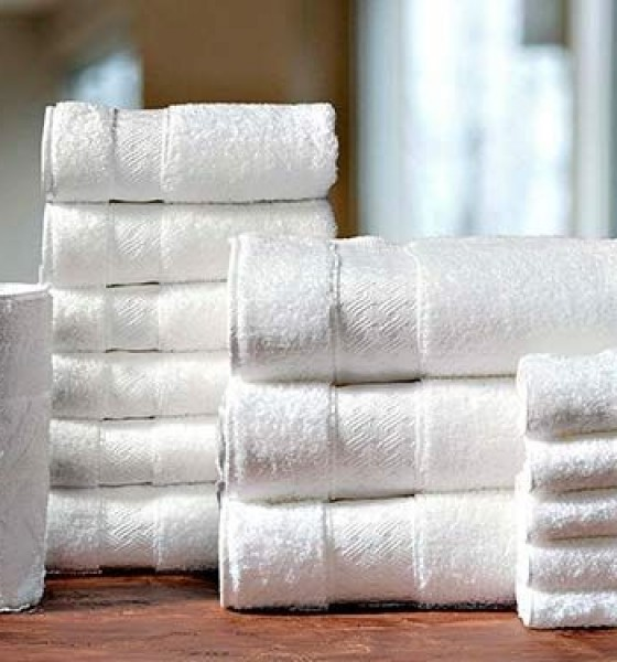 Terry Towels - Basket Weave Hotel Collection