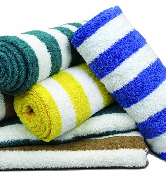 Pool Towels (Cabana Stripes)